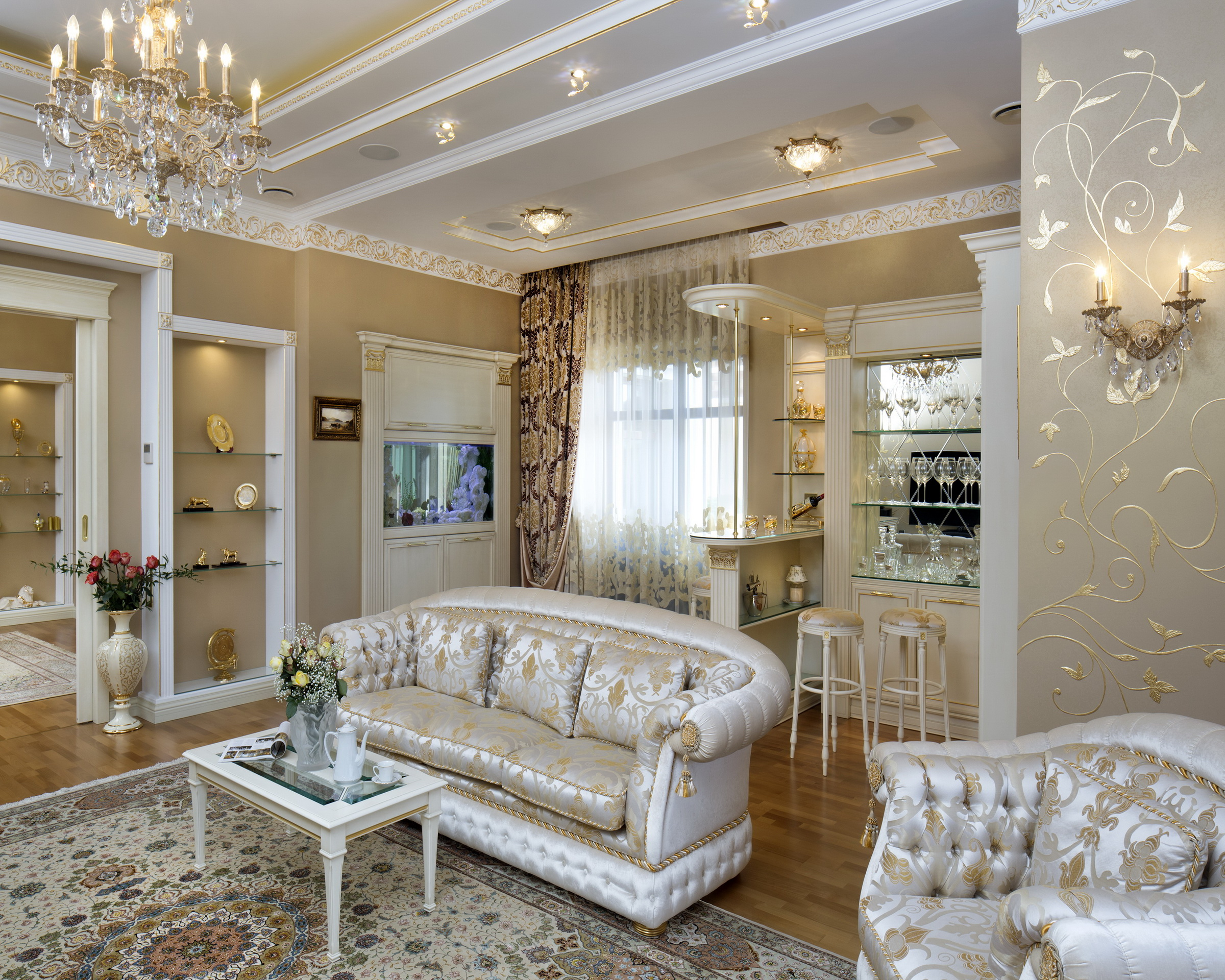 Классический интерьер дома фото