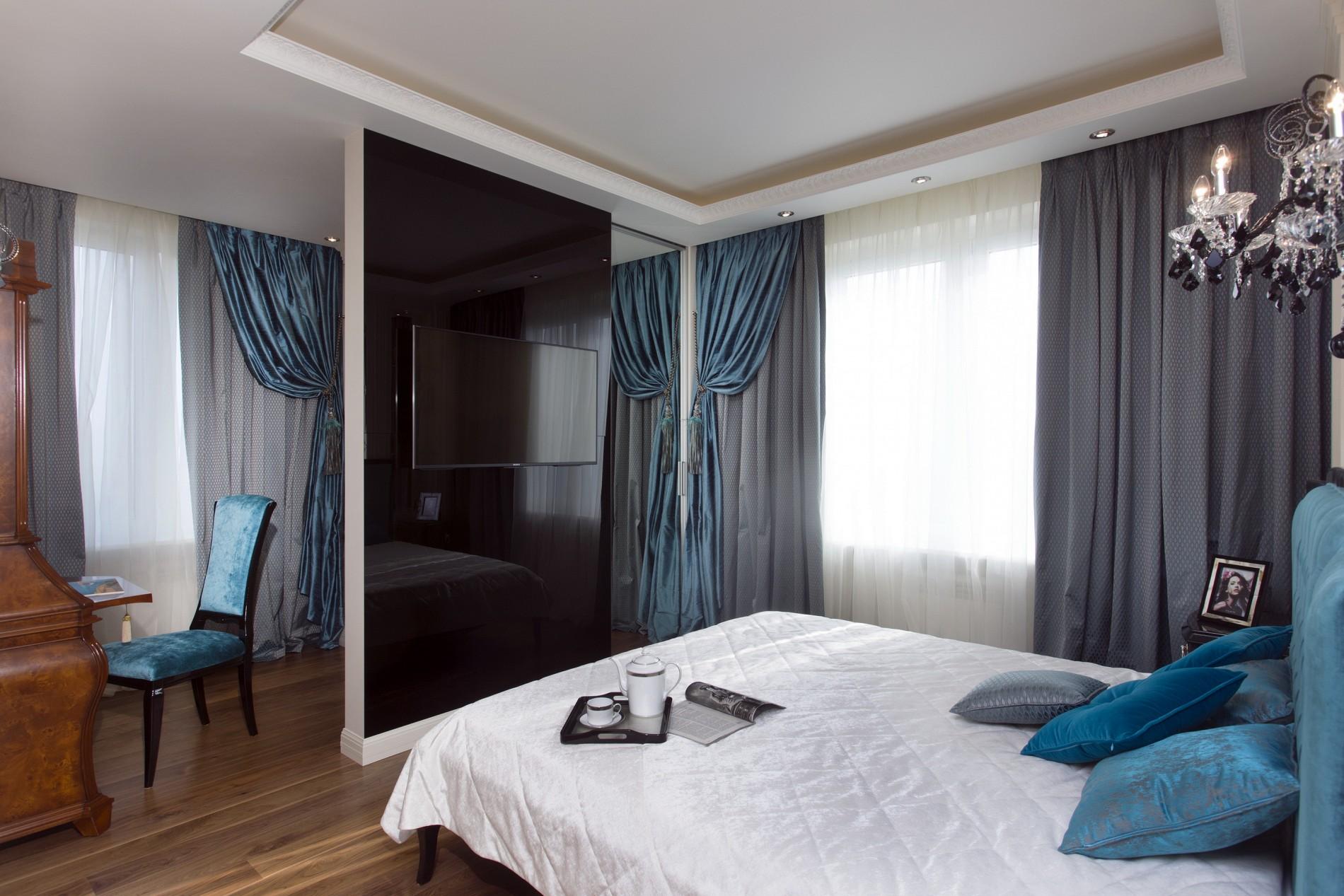 Интерьер спальни в американском стиле