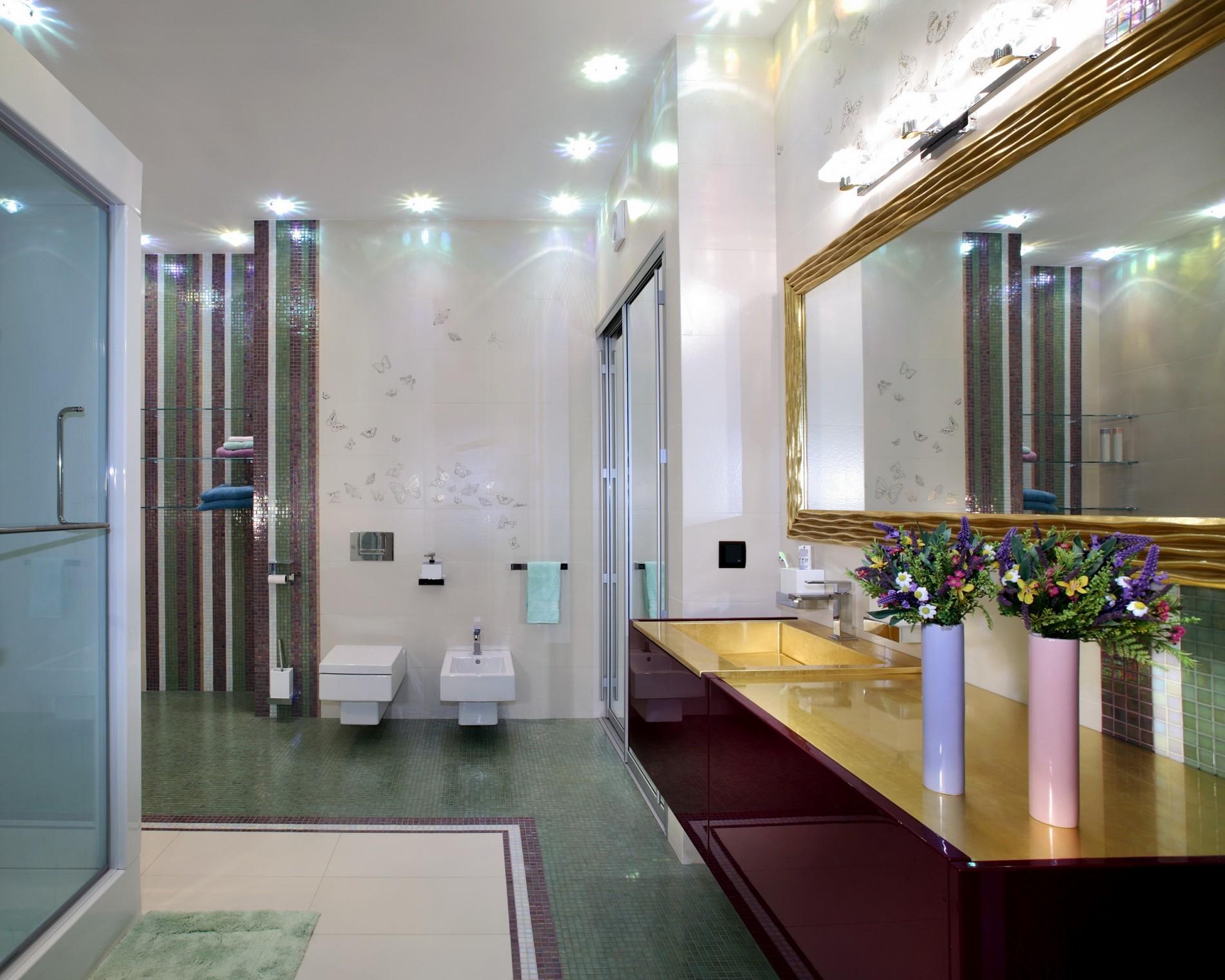 Стильная ванная комната от дизайнера