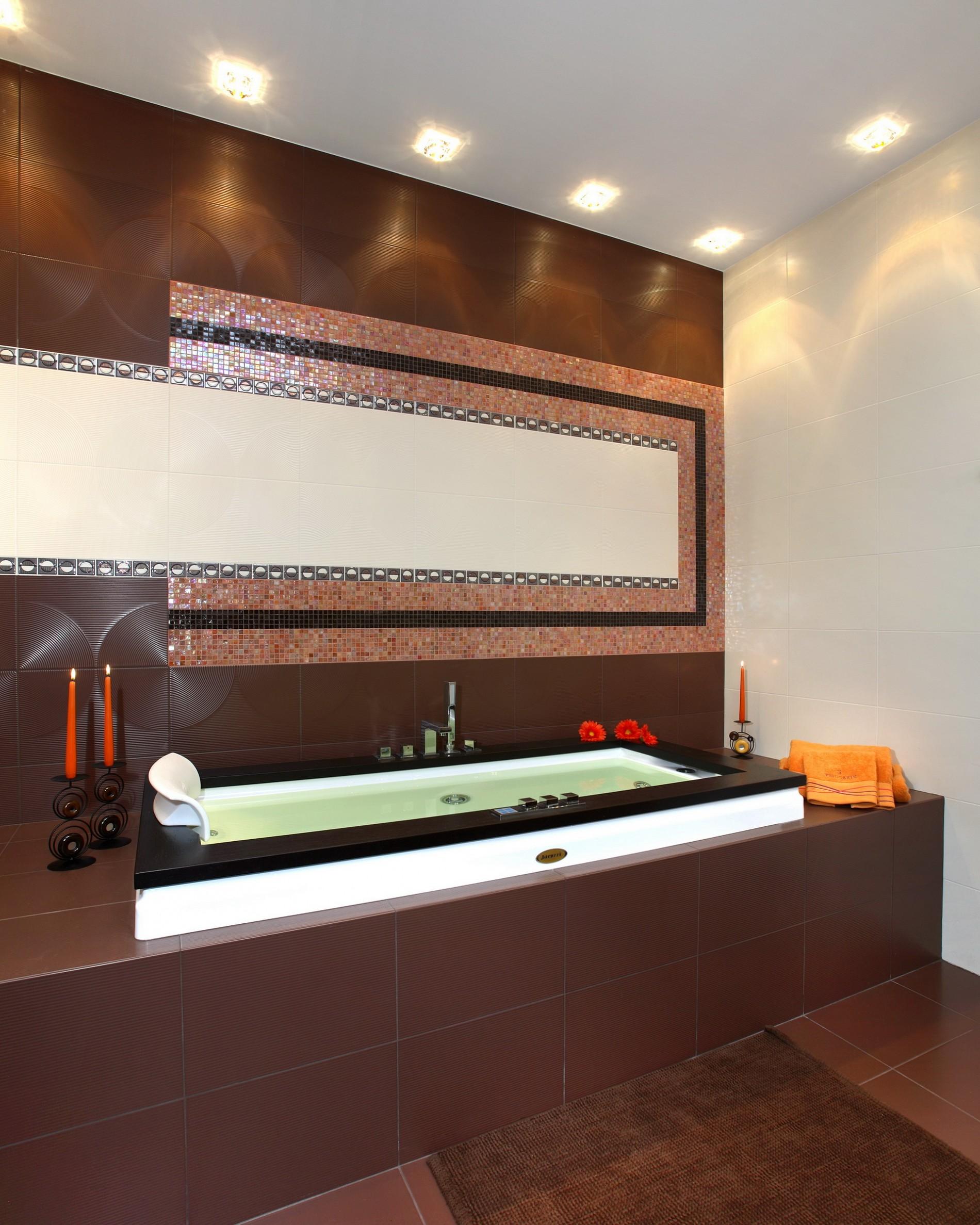 Стильная ванная в ЖК золотые ключи