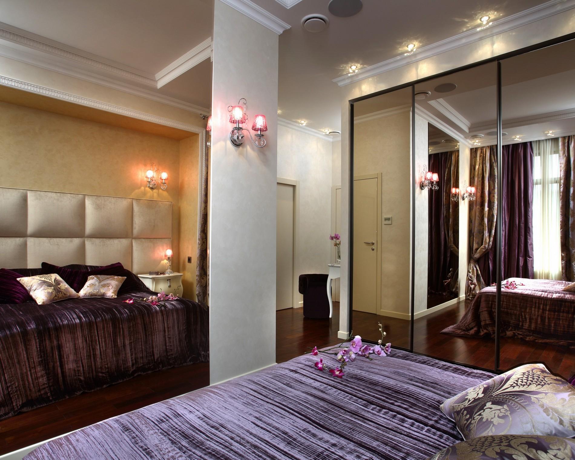 Стиль ар деко в интерьере спальни
