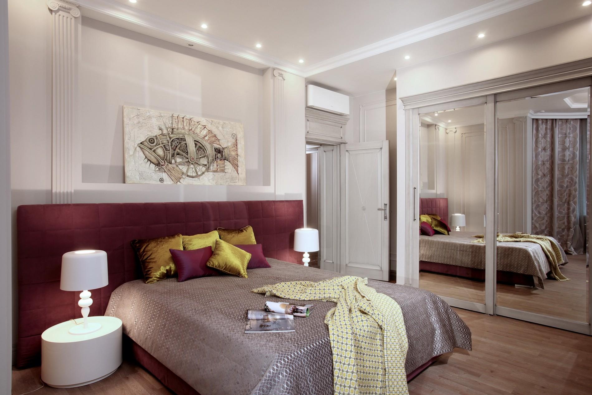 Гостевая комната в неоклассике
