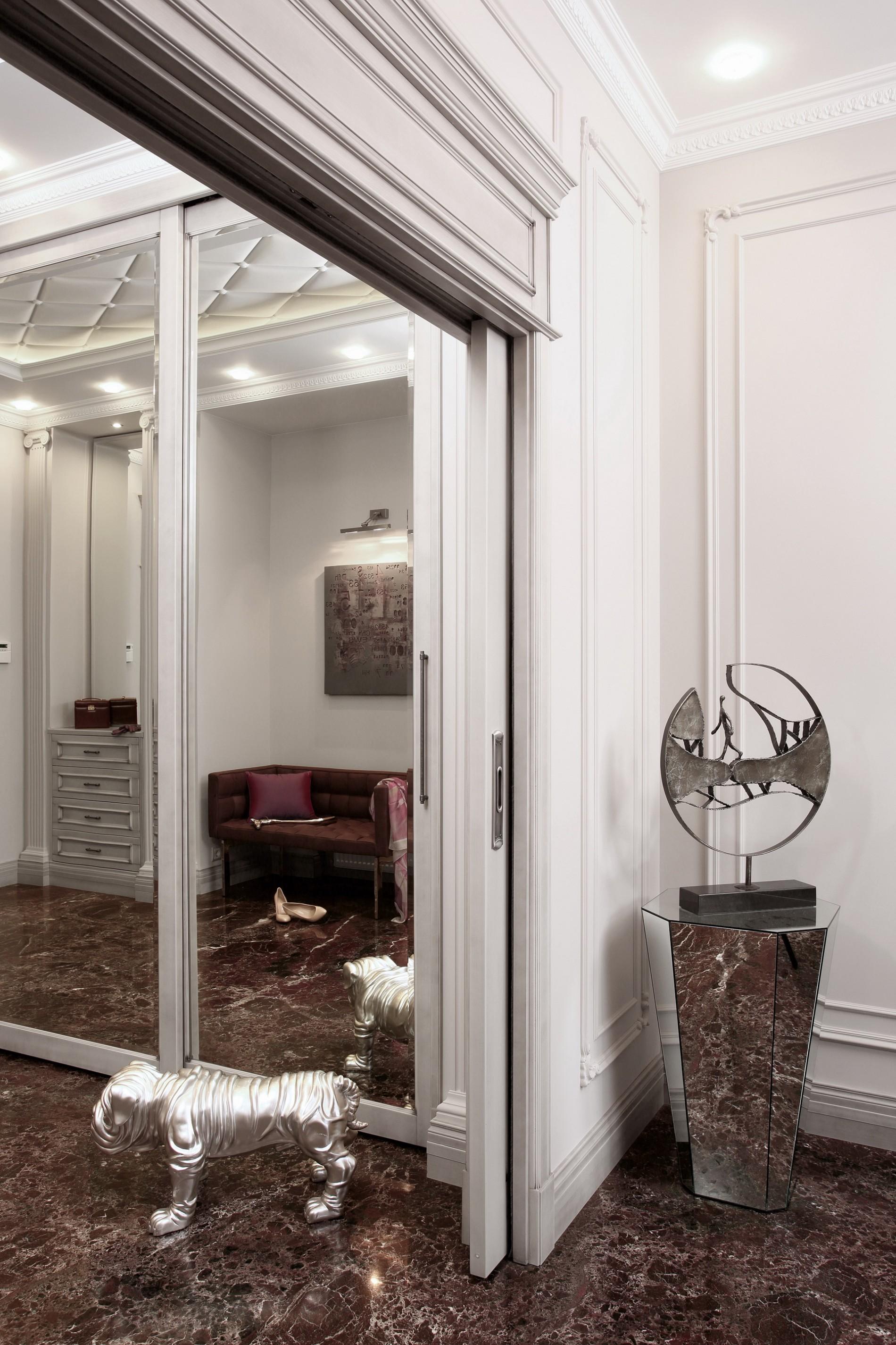 Раздвижные двери в классическом стиле
